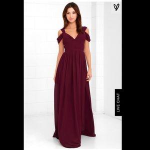 Lulus make me move bridesmaid dress